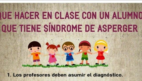 Que Hacer En Clase Con Un Alumno Que Tiene Síndrome De Asperger