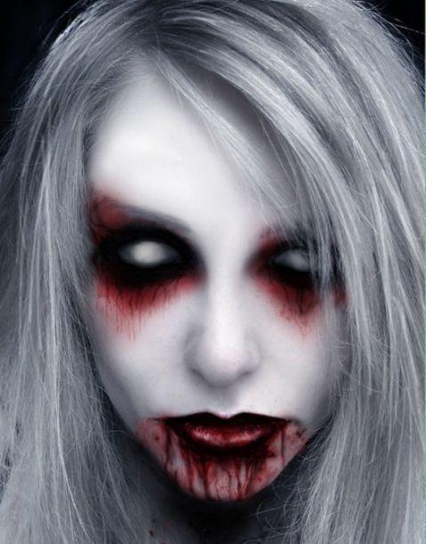 Halloween Makeup - Creepy Face