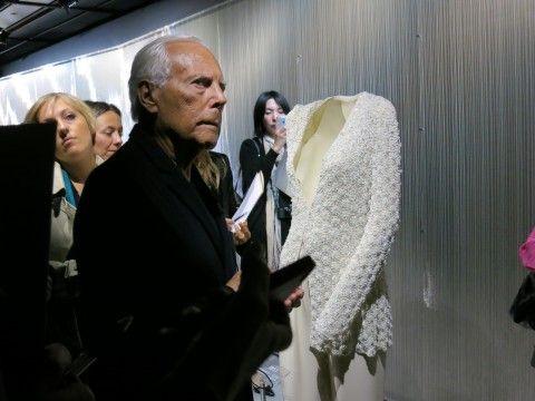 Apre il nuovo Armani\Silos, ecco le immagini. Visita guidata da Re Giorgio in persona ai nuovi headquarters (con annesso museo) di Milano