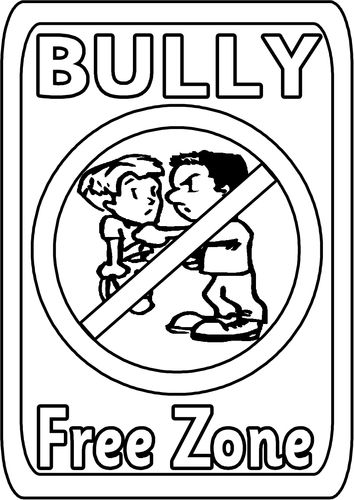 Bullying Coloring Pages For Kindergarten : Best bullying images on pinterest