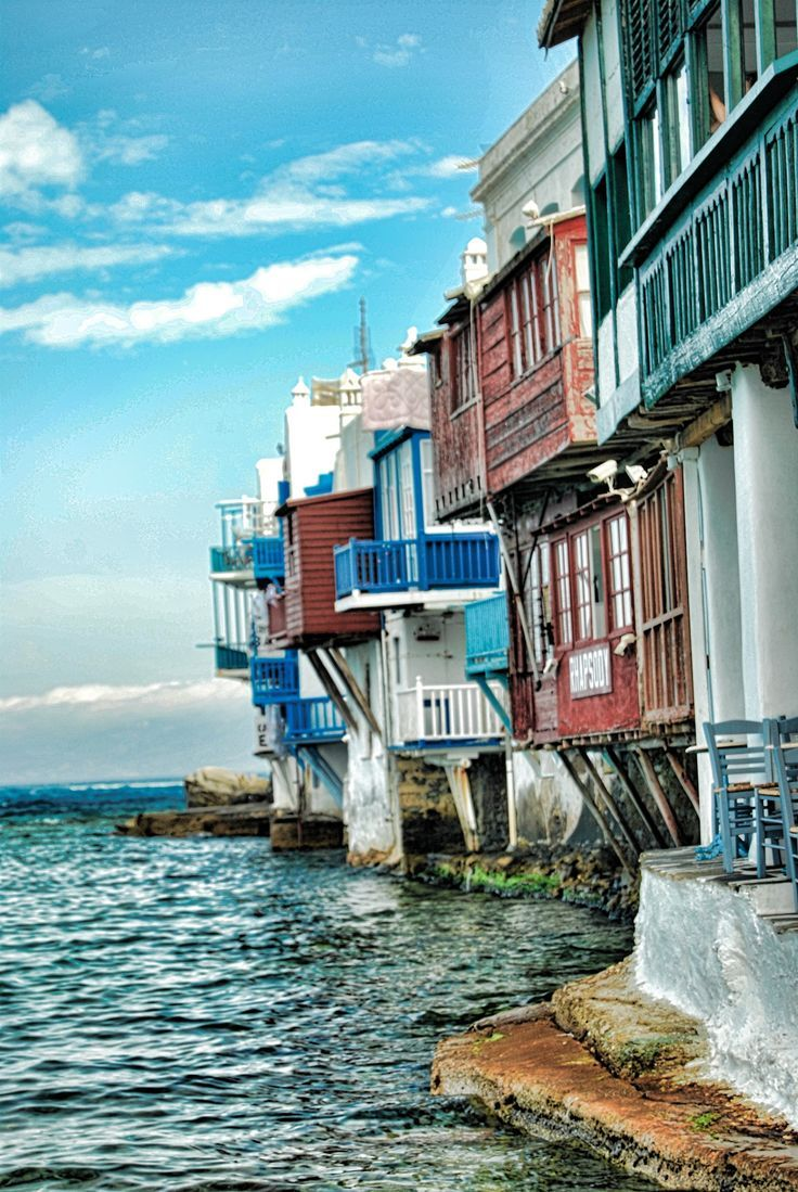 Greece Travel Inspiration - Little Venice - Mykonos, Greece