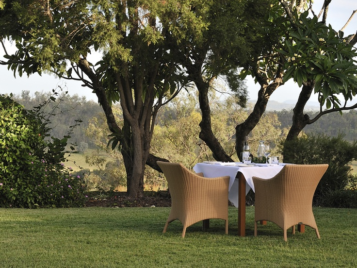 Spicers Hidden Vale - alfresco dining