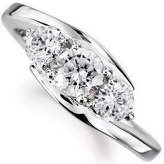 3 stone ring settings | Stone Engagement Ring Settings | Weddings Rings Store