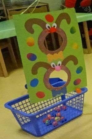Basteln mit Kindern: Osterspiele für die Kleinsten #diy