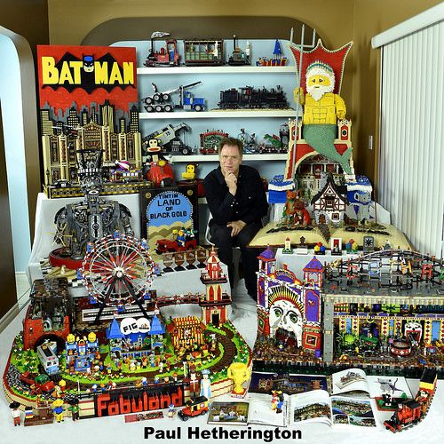 Batman, The Day of the Dead and Pickles: a chat with world-class LEGO builder Paul Hetherington [Interview]