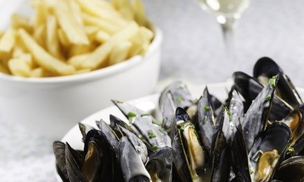 Moules-frites à emporter pour 1 ou 2 personnes - Restaurant Moules And Chips à Lyon