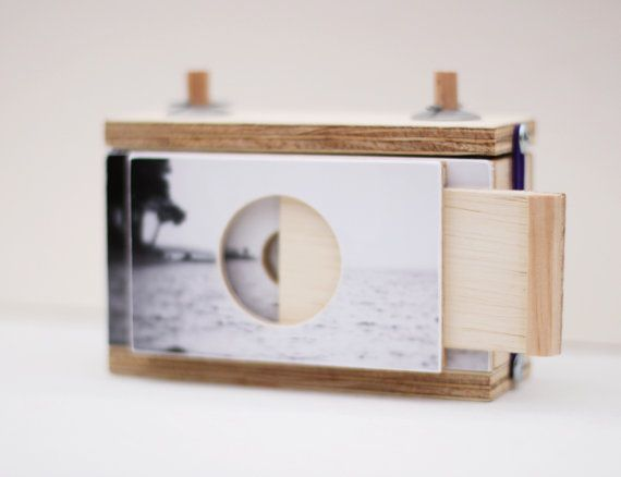 Pinhole Camera for 120mm film takes square images  by FrenchFind, $145.00