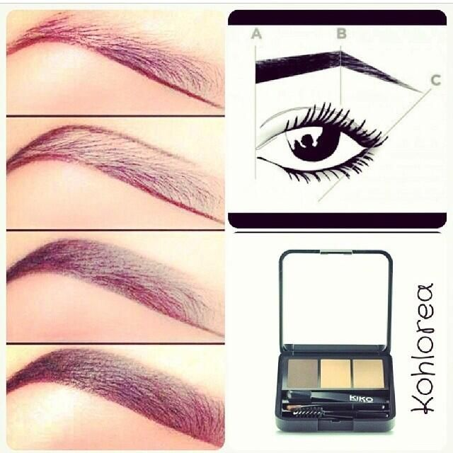 17 best images about beauty tips on pinterest eyebrows - Maneras de maquillarse ...
