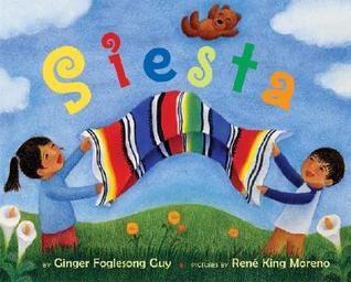 En este cuento bilingüe encontramos dos niños que buscan a sus personalidades. Este libro atenta a los niños por sus objetos que buscan. La audiencia se puede relacionar con estos pequeños porque todos en alguna parte de nuestras vidas hemos pasado por algo como el cuento de Siesta.