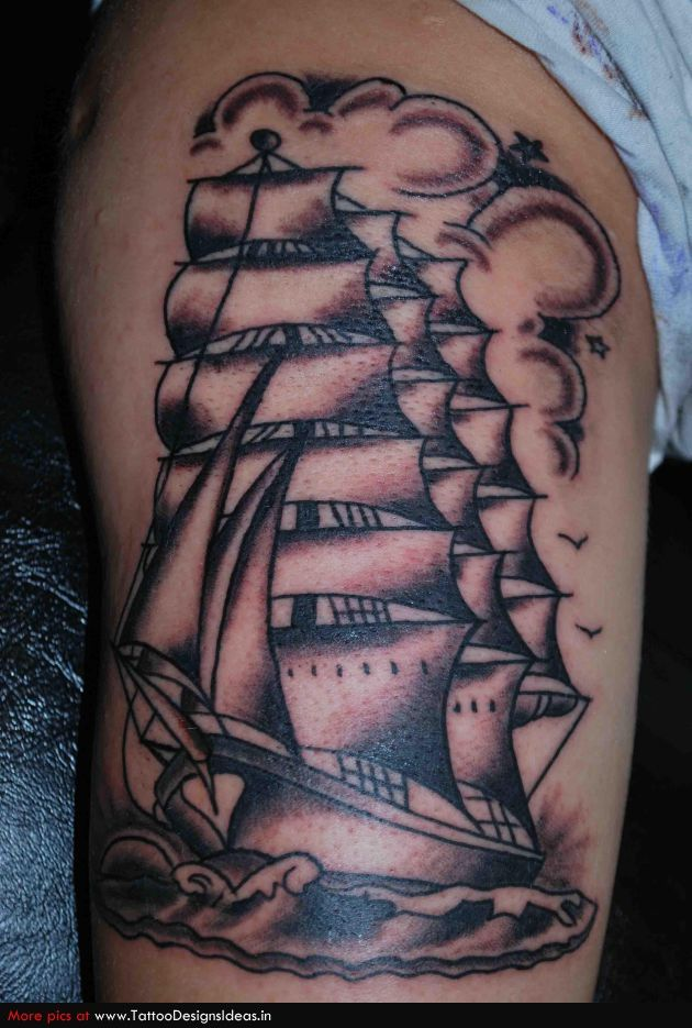 12 best images about ship and pirate tattoos on pinterest for Pirate tattoo meaning