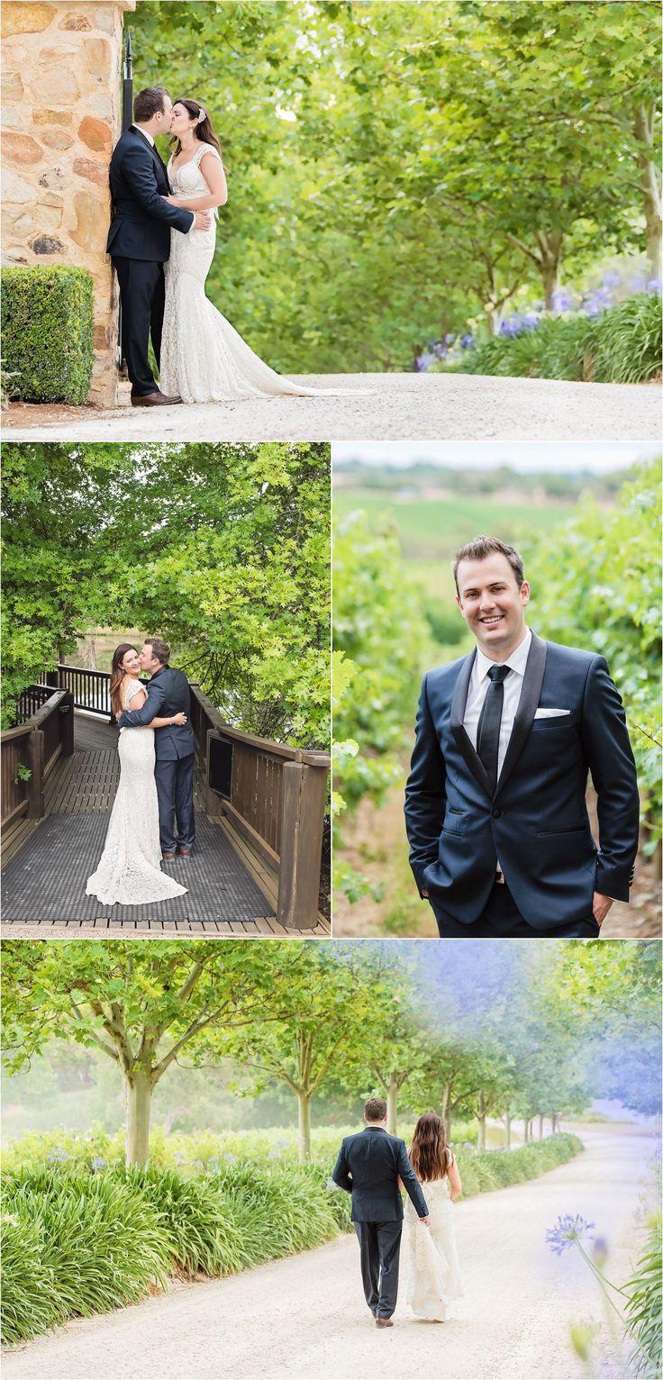 Couple photographs, winery wedding at K1 Hardy, South Australia - Adelaide, just married, outdoor, elegant, vineyard, purple & cream, soft wedding photography, South Australia, outdoor wedding, fresh - www.gpix.com.au.