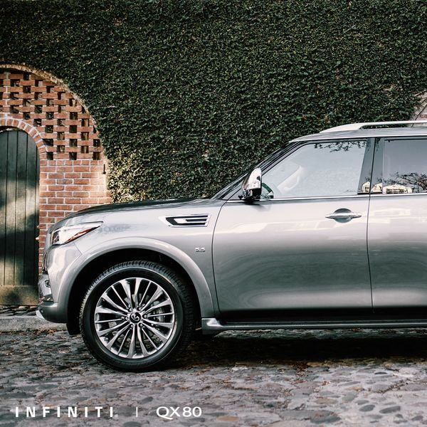 The 2019 #INFINITI #QX80. Enough Seating To Parade Your