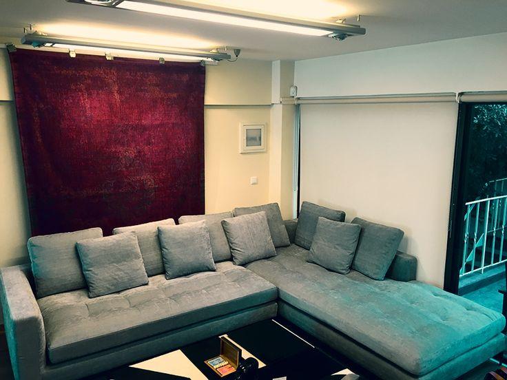 Fur Deco | fabric corner sofa