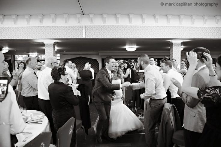 Bride & groom entrance Kilronan Castle Ireland wedding photographer sligo