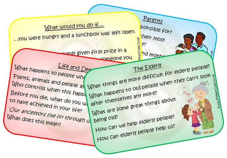 PHSCE cards - 28 themed cards with a variety of questions and prompts for group/class discussion