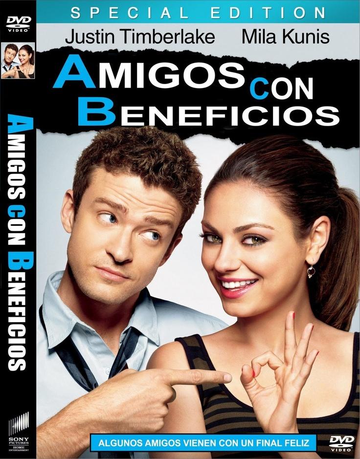 """Amigos con beneficios surge partiendo de la película """"Amigos con derechos"""". Es más juvenil y con más comedia, pero la trama no cambia."""