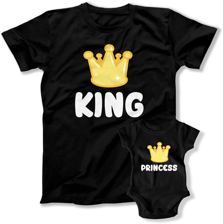 Matching Family Outfits https://teepinch.com/collections/matching-family-shirts King And Princess Matching Family Outfits