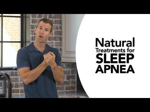 Natural Treatments for Sleep Apnea - YouTube