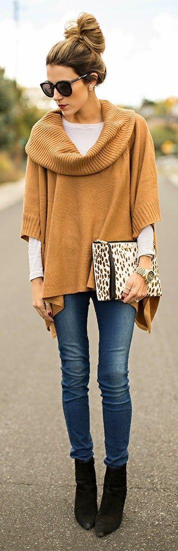 Daily New Fashion : Vanilla + Camel.