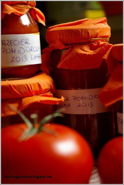 Z zapachem wanilii we włosach...: szybki przecier (koncentrat) pomidorowy