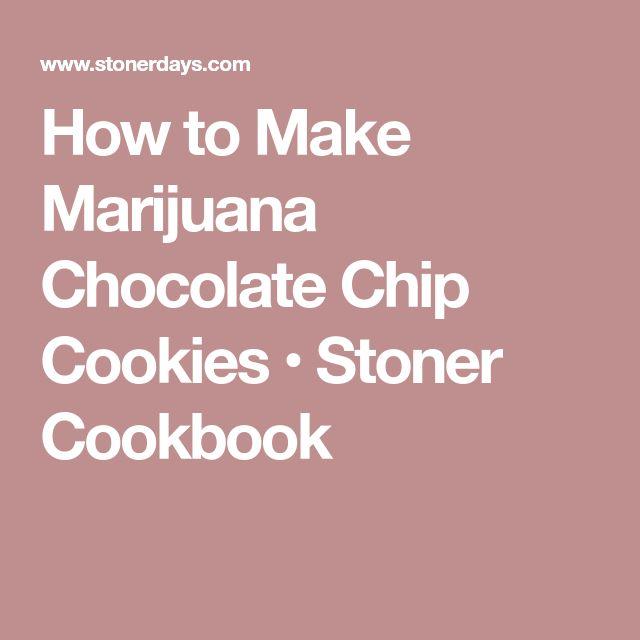 how to prepare marijuana cookies
