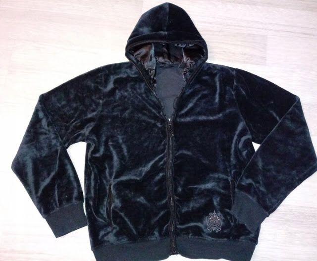 Odziez Uzywana W Wschowa Tel 574671215 Bluza Damska Welurowa Czarna Na Zamek R M Wschowa Leather Jacket Fashion Puma Jacket