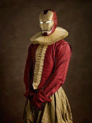 Super heroes y villanos en el siglo XVII.   Quiero más diseño