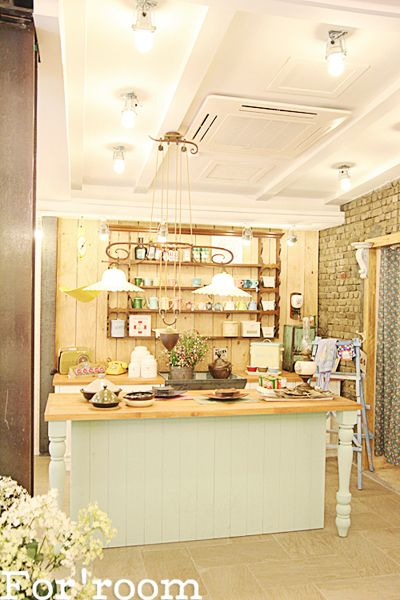 London country style interior studio by For'room. South Korea.