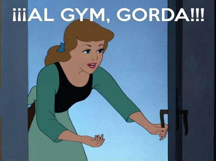 ¡Al gym, gorda!