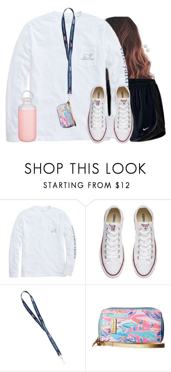 """""""I love my lanyard"""" by aweaver-2 on Polyvore featuring NIKE, Vineyard Vines, Converse, Contigo, Lilly Pulitzer and Honora"""