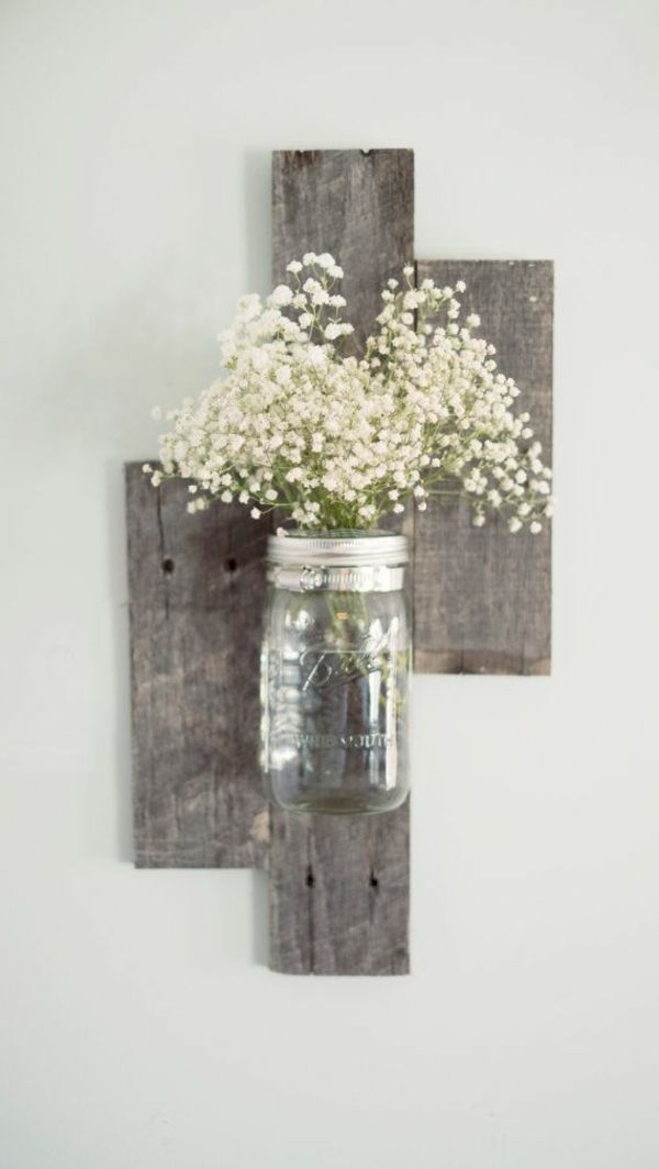 Wanddeko holz selber machen  Die besten 25+ Wanddeko Ideen auf Pinterest | Wandregal holz ...