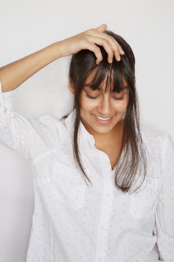 A CUP OF JO: How to cut your own bangs