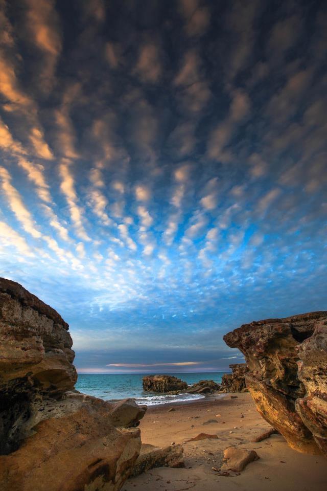 Nightcliff Beach, darwin, Northern Territory, Australia