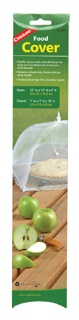 Food Cover   - Nylon mesh protects food from insects.   - Opens like an umbrella supported by the metal frame.