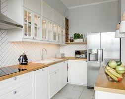 Aranzacje Wnetrz Jadalnia Skandynawski Zoliborz Mala Otwarta Jadalnia W Kuchni Styl Skandynawski Eg Projekt Prze Kitchen Decor Kitchen Home Renovation