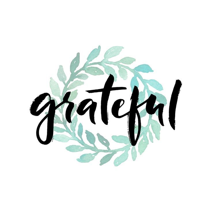 Make a habit of being grateful words that inspire