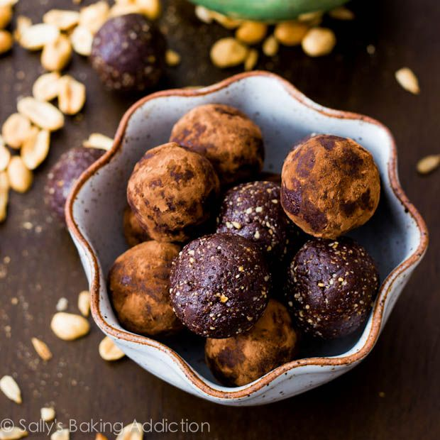 Chocolate Truffle Brownie Bites Recipe — Dishmaps