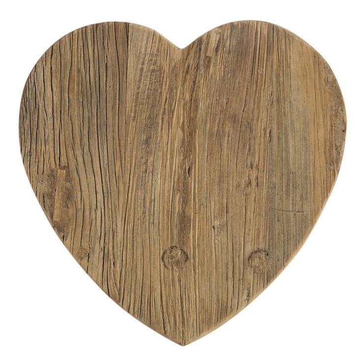 Heart Elm Board - Made from recycled Elm doors. - Each one is unique and beautiful!