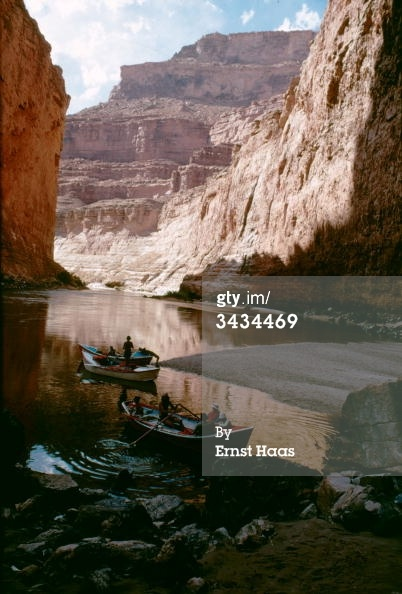News Photo: Boats taking tourists along the Colorado River through…