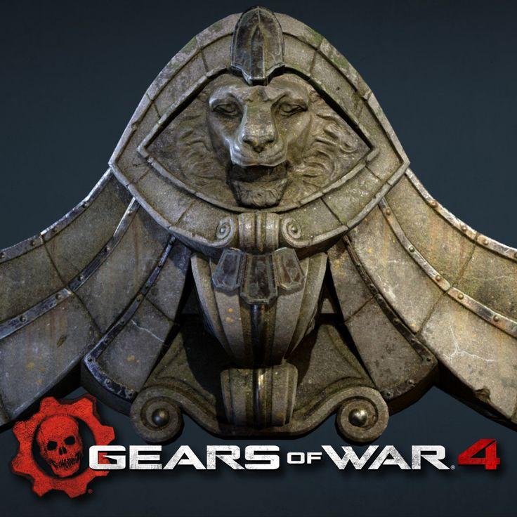 Gears Of War 4 - Assets, Joey Kutzer on ArtStation at https://www.artstation.com/artwork/dbkdQ