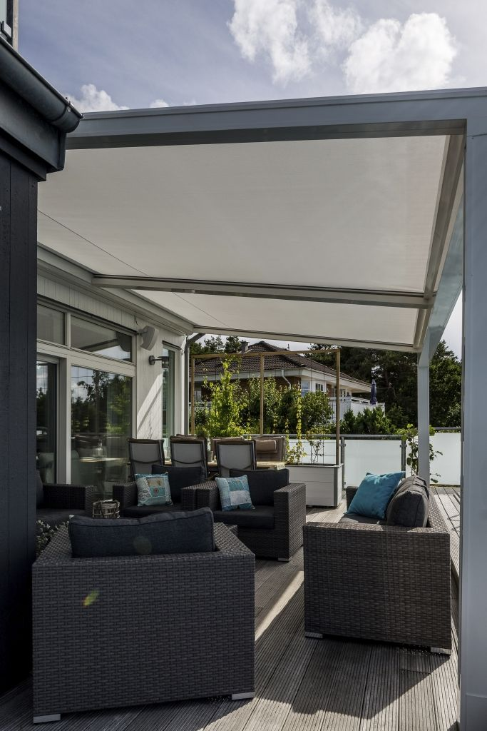 Perfect The Lagune Screens Are Wind  And Waterproof. And They Also Protect You  Against The Burning Sun. #pergola #terracecover #terracecovering #terrace # Outdoor ...