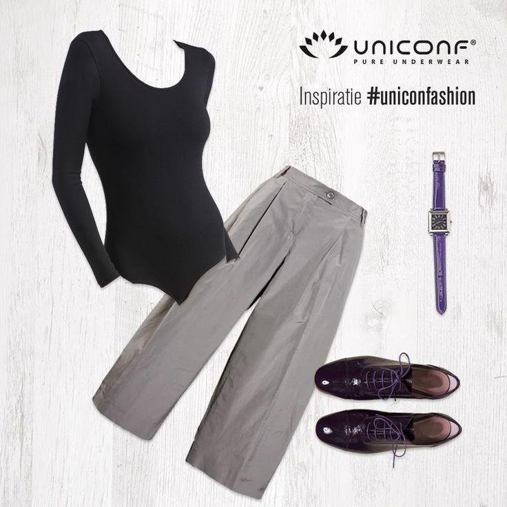 Cum să arăți chic și elegant la birou, fără prea mult efort? 😊 Te inspirăm noi azi, în rubrica #uniconfashion, cu o idee de ținută confortabilă și la modă: