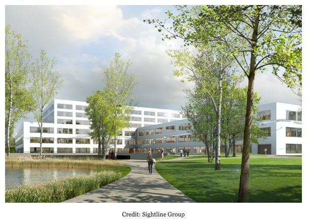 A #BIM first in Switzerland: an 8 story, 50,000m², 200-bed healthcare facility to be created. http://autode.sk/1Kdv20r