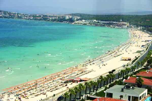 Çeşme Ilıca plajı-Turkey