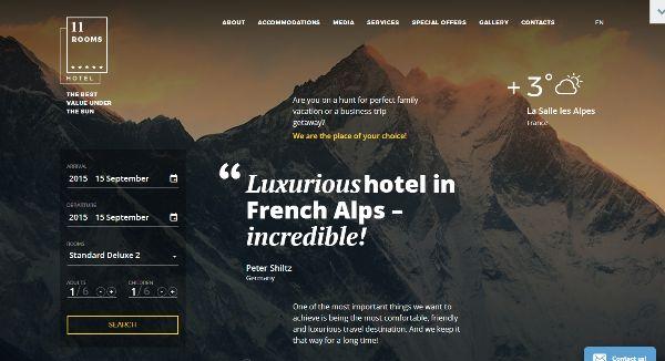 40+ Best Hotel Website Templates