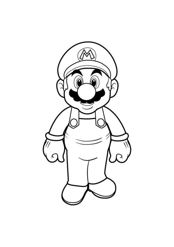 47 Disegni Di Super Mario Bros Da Colorare Super Mario Bros Mario Bros Super Mario