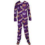 Minnesota Vikings NFL Wildcard Unionsuit Pajamas (XX-Large)