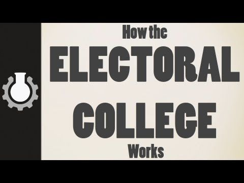 Fellow teacher CGPGrey explains How the Electoral College Works, and, for the first time in my life, I understand.