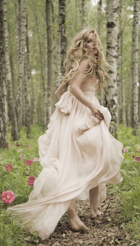 For a forest wedding