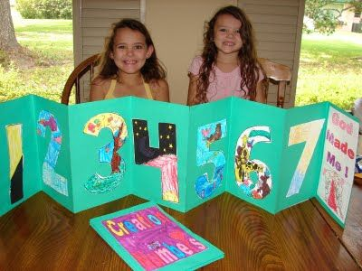 creation book - I like this for another option/for the child that likes to draw, not just color. Week 4